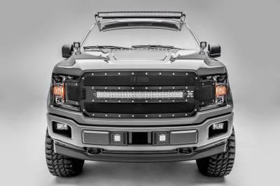 Ford F-150, Raptor Front Roof LED Bracket to mount 52 Inch Straight LED Light Bar - PN #Z335162 - Image 3