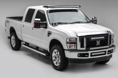 ZROADZ - 1999-2016 Ford Super Duty Front Roof LED Bracket to mount (1) 52 Inch Curved LED Light Bar - PN #Z335461 - Image 1