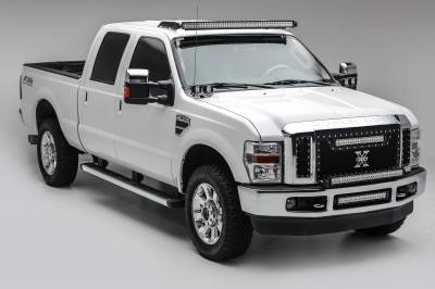 ZROADZ - 1999-2016 Ford Super Duty Front Roof LED Kit with (1) 52 Inch LED Curved Double Row Light Bar - PN #Z335461-KIT-C - Image 1