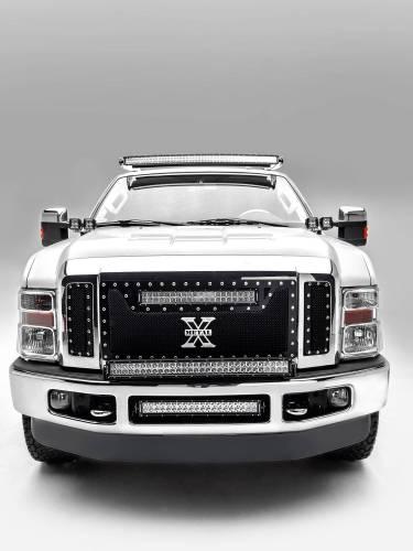 ZROADZ - 1999-2016 Ford Super Duty Front Roof LED Kit with (1) 52 Inch LED Curved Double Row Light Bar - PN #Z335461-KIT-C - Image 4