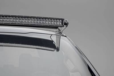 ZROADZ - 2017-2021 Ford Super Duty Front Roof LED Bracket to mount (1) 52 Inch Curved LED Light Bar - PN #Z335471 - Image 3