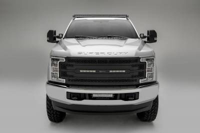 ZROADZ - 2017-2021 Ford Super Duty Front Roof LED Kit with (1) 52 Inch LED Double Row Curved Light Bar - PN #Z335471-KIT - Image 7