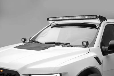 ZROADZ OFF ROAD PRODUCTS - Ford F-150, Raptor Front Roof LED Bracket to mount 52 Inch Curved LED Light Bar - PN #Z335662 - Image 1