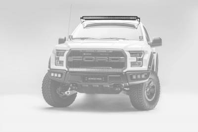 ZROADZ OFF ROAD PRODUCTS - Ford F-150, Raptor Front Roof LED Bracket to mount 52 Inch Curved LED Light Bar - PN #Z335662 - Image 2
