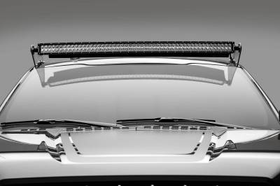 ZROADZ - Ford F-150, Raptor Front Roof LED Kit with 52 Inch LED Curved Double Row Light Bar - PN #Z335662-KIT-C - Image 3