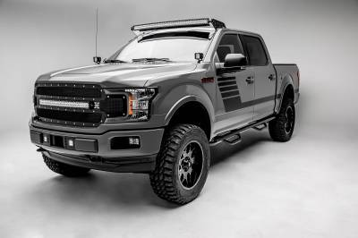 ZROADZ - Ford F-150, Raptor Front Roof LED Kit with 52 Inch LED Curved Double Row Light Bar - PN #Z335662-KIT-C - Image 6