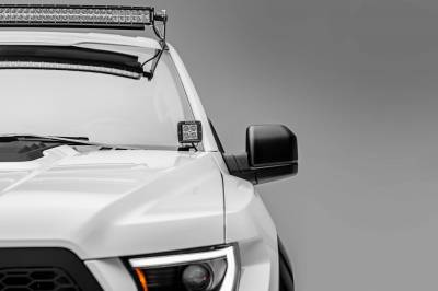 ZROADZ - Ford F-150, Raptor Front Roof LED Kit with 52 Inch LED Curved Double Row Light Bar - PN #Z335662-KIT-C - Image 8