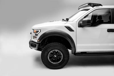 ZROADZ - Ford F-150, Raptor Front Roof LED Kit with 52 Inch LED Curved Double Row Light Bar - PN #Z335662-KIT-C - Image 13
