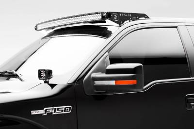 ZROADZ - Ford Front Roof LED Kit with (1) 52 Inch LED Curved Double Row Light Bar - PN #Z335721-KIT-C - Image 1
