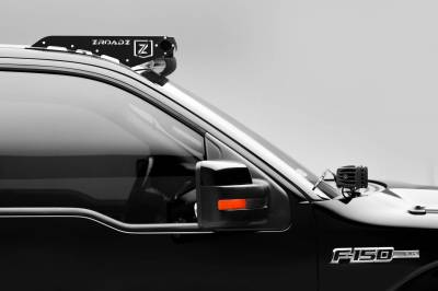 ZROADZ - Ford Front Roof LED Kit with (1) 52 Inch LED Curved Double Row Light Bar - PN #Z335721-KIT-C - Image 4