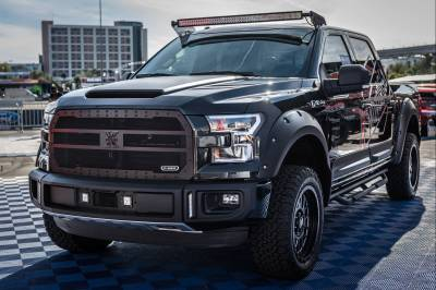 ZROADZ - 2015-2020 Ford F-150 Front Roof LED Kit with 50 Inch LED Curved Double Row Light Bar - PN #Z335731-KIT-C - Image 2