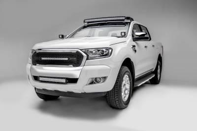 ZROADZ - 2015-2018 Ford Ranger T6 Front Roof LED Bracket to mount (1) 40 Inch Curved LED Light Bar - PN #Z335761 - Image 3