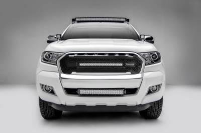 ZROADZ - 2015-2018 Ford Ranger T6 Front Roof LED Bracket to mount (1) 40 Inch Curved LED Light Bar - PN #Z335761 - Image 4