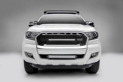 ZROADZ - 2015-2018 Ford Ranger T6 Front Roof LED Kit with (1) 40 Inch LED Curved Double Row Light Bar - PN #Z335761-KIT-C - Image 3