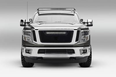 ZROADZ OFF ROAD PRODUCTS - 2016-2019 Nissan Titan Front Roof LED Bracket to mount (1) 50 Inch Staight LED Light Bar - PN #Z337181 - Image 1