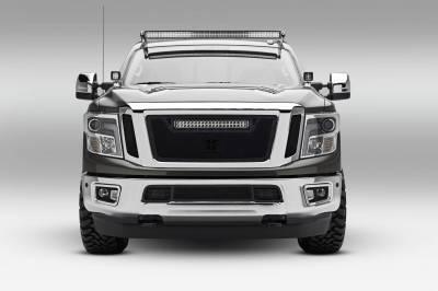 ZROADZ - 2016-2019 Nissan Titan Front Roof LED Bracket to mount (1) 50 Inch Curved LED Light Bar - PN #Z337581 - Image 3