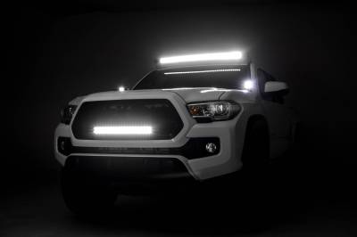 ZROADZ OFF ROAD PRODUCTS - 2005-2021 Toyota Tacoma Front Roof LED Bracket to mount 40 Inch Staight LED Light Bar - PN #Z339101 - Image 1