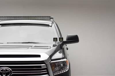 2007-2021 Toyota Tundra Front Roof LED Bracket to mount 50 Inch Straight LED Light Bar - PN #Z339141 - Image 3