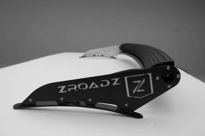 ZROADZ - 2007-2021 Toyota Tundra Front Roof LED Kit with 50 Inch LED Curved Double Row Light Bar - PN #Z339641-KIT-C - Image 9