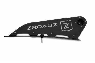 ZROADZ - 2007-2021 Toyota Tundra Front Roof LED Kit with 50 Inch LED Curved Double Row Light Bar - PN #Z339641-KIT-C - Image 10