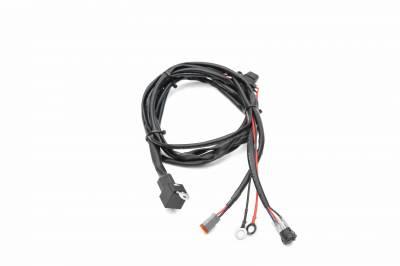 ZROADZ - 2007-2018 Jeep JK Hood Hinge LED Kit with (1) 20 Inch LED Straight Single Row Slim Light Bar - PN #Z344811-KIT - Image 6