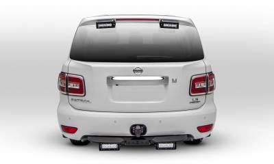 ZROADZ - 2010-2017 Nissan Patrol Y62 Rear Spoiler LED Kit with (2) 6 Inch LED Single Row Slim Light Bars - PN #Z347871-KIT - Image 4