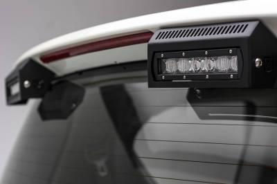 ZROADZ - 2010-2017 Nissan Patrol Y62 Rear Spoiler LED Kit with (2) 6 Inch LED Single Row Slim Light Bars - PN #Z347871-KIT - Image 6