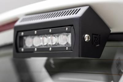 ZROADZ - 2010-2017 Nissan Patrol Y62 Rear Spoiler LED Kit with (2) 6 Inch LED Single Row Slim Light Bars - PN #Z347871-KIT - Image 7