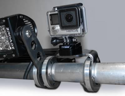 ZROADZ - Universal Roof Mount LED Bracket Accessory to mount (1) 3 Inch LED Pod Light or GoPro Camera Mount - PN #Z350003 - Image 3