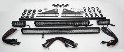 ZROADZ - Universal Modular Rack LED Kit with (1) 30 Inch (1) 20 Inch, (2) 6 Inch LED Straight Double Row Light Bars - PN #Z350040-KIT-B - Image 3