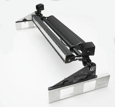 ZROADZ - Universal Modular Rack LED Kit with (1) 30 Inch (1) 20 Inch Straight Double Row Light Bars, (2) 3 Inch LED Pod Lights - PN #Z350040-KIT-C - Image 1