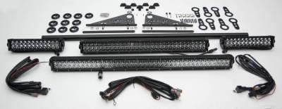 ZROADZ - Universal Modular Rack LED Kit with (1) 30 Inch (1) 20 Inch, (2) 12 Inch LED Straight Double Row Light Bars - PN #Z350040-KIT-D - Image 3
