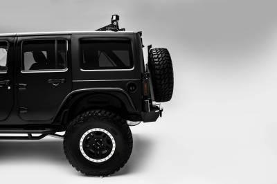 ZROADZ OFF ROAD PRODUCTS - Jeep JK, JL Modular Rack LED Kit with (1) 40 Inch (1) 20 Inch Straight Double Row Light Bars, (2) 3 Inch LED Pod Lights - PN #Z350050-JK-KIT-B - Image 3