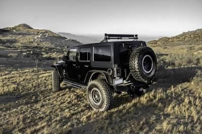 ZROADZ OFF ROAD PRODUCTS - Jeep JK, JL Modular Rack LED Kit with (1) 40 Inch (1) 20 Inch Straight Double Row Light Bars, (2) 3 Inch LED Pod Lights - PN #Z350050-JK-KIT-B - Image 5