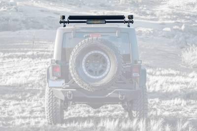 ZROADZ - Jeep JK, JL Modular Rack LED Kit with (1) 40 Inch (1) 20 Inch Straight Double Row Light Bars, (2) 3 Inch LED Pod Lights - PN #Z350050-JK-KIT-B - Image 8