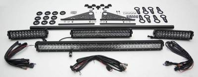 ZROADZ - Modular Rack LED Kit with (1) 40 Inch (1) 20 Inch, (2) 12 Inch LED Straight Double Row Light Bars - PN #Z350050-KIT-C - Image 3