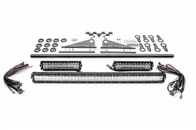 ZROADZ - Modular Rack LED Kit with (1) 40 Inch (2) 12 Inch Straight Double Row Light Bars - PN #Z350050-KIT-F - Image 4