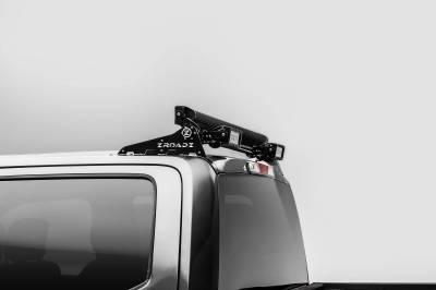 ZROADZ OFF ROAD PRODUCTS - 2017-2021 Ford Super Duty Modular Rack LED Bracket adjustable to mount up to (4) various size LED Light Bars - PN #Z355471 - Image 1