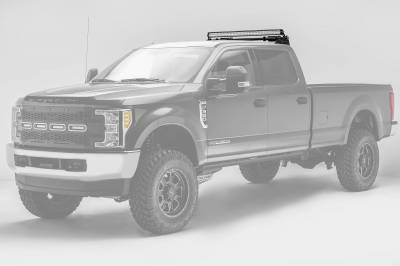 ZROADZ - 2017-2021 Ford Super Duty Modular Rack LED Bracket adjustable to mount up to (4) various size LED Light Bars - PN #Z355471 - Image 5