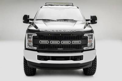 ZROADZ - 2017-2021 Ford Super Duty Modular Rack LED Bracket adjustable to mount up to (4) various size LED Light Bars - PN #Z355471 - Image 8