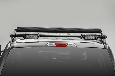 ZROADZ - 2017-2021 Ford Super Duty Modular Rack LED Bracket adjustable to mount up to (4) various size LED Light Bars - PN #Z355471 - Image 9