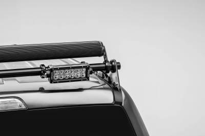 ZROADZ OFF ROAD PRODUCTS - 2017-2021 Ford Super Duty Modular Rack LED Bracket adjustable to mount up to (4) various size LED Light Bars - PN #Z355471 - Image 10