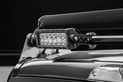 ZROADZ OFF ROAD PRODUCTS - 2017-2021 Ford Super Duty Modular Rack LED Bracket adjustable to mount up to (4) various size LED Light Bars - PN #Z355471 - Image 13