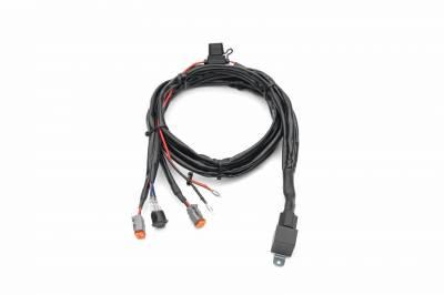 ZROADZ OFF ROAD PRODUCTS - 2015-2019 Silverado, Sierra HD Hood Hinge LED Kit with (2) 3 Inch LED Pod Lights - PN #Z361221-KIT2 - Image 12