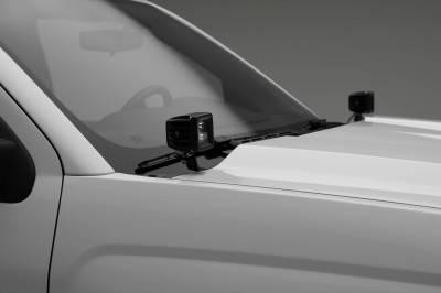 ZROADZ - 2014-2018 Silverado, Sierra 1500 Hood Hinge LED Kit with (2) 3 Inch LED Pod Lights - PN #Z362081-KIT2 - Image 4