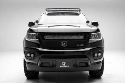 ZROADZ OFF ROAD PRODUCTS - 2015-2020 Colorado, Canyon Hood Hinge LED Bracket to mount (2) 3 Inch LED Pod Lights - PN #Z362671 - Image 3