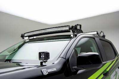 ZROADZ OFF ROAD PRODUCTS - 2015-2020 Colorado, Canyon Hood Hinge LED Kit with (2) 3 Inch LED Pod Lights - PN #Z362671-KIT2 - Image 1