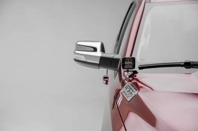 ZROADZ OFF ROAD PRODUCTS - 2019-2021 Ram 1500 Hood Hinge LED Bracket to mount (2) 3 Inch LED Pod Lights - PN #Z364721 - Image 4