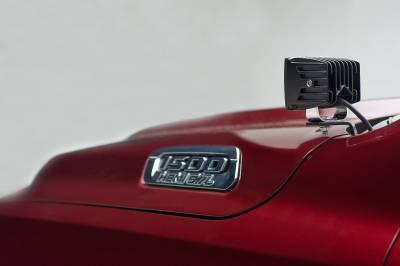 ZROADZ OFF ROAD PRODUCTS - 2019-2021 Ram 1500 Hood Hinge LED Bracket to mount (2) 3 Inch LED Pod Lights - PN #Z364721 - Image 6