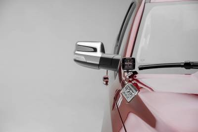 ZROADZ - 2019-2021 Ram 1500 Hood Hinge LED Kit with (2) 3 Inch LED Pod Lights - PN #Z364721-KIT2 - Image 4